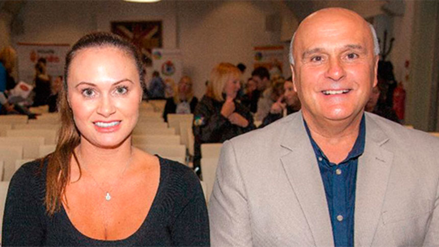 Louise and Peter Crolla, Health and Safety Solutions founders.
